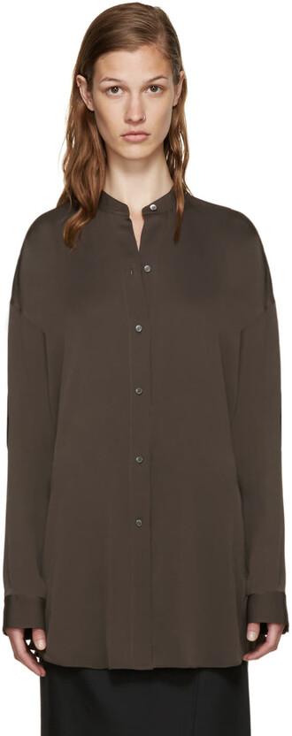 shirt back grey top