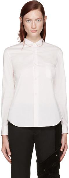Comme Des Garçons Pink Classic Shirt