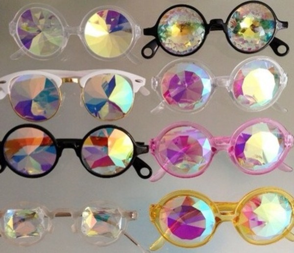 sunglasses crystal shades sunglasses round shape lennons