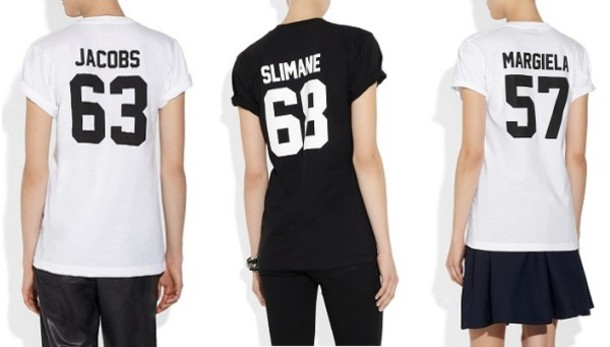 f534ceb7 t-shirt, marc jacobs, alexander wang, margiela, designer, trendy ...