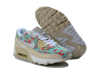 shoes nike air max 90 floral sneakers nike