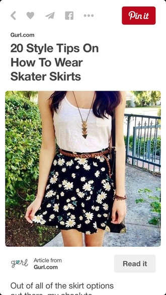 skirt white top skater skirt black skirt black skater skirt
