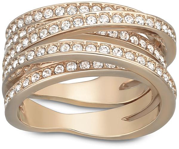 Spiral Ring - Jewelry  - Swarovski Online Shop