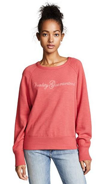 Rag & Bone/JEAN sweatshirt red sweater
