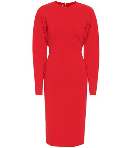 Stella McCartney Sweatshirt dress in red