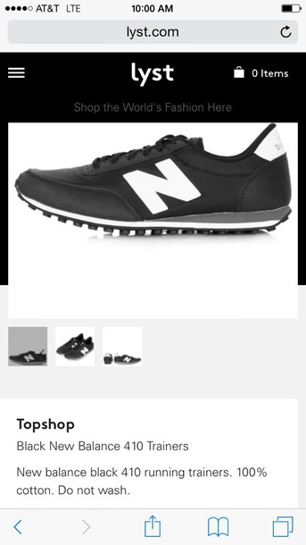 shoes new balance women's 410 black and white new