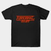 t-shirt,abnormal stuff,stangerthings,stranger things parody,parody