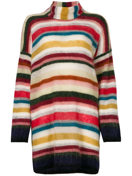 Bellerose jumper oversized women spandex mohair wool knit sweater