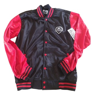 jacket chris brown black pyramid red black dope swag
