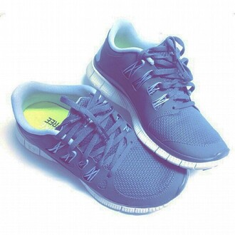 shoes nike running shoes grey shoes