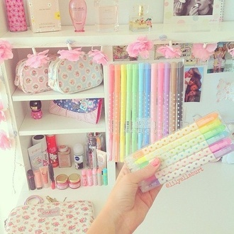 home accessory pencils school supplies kawaii kawaii accessory pastel stationary