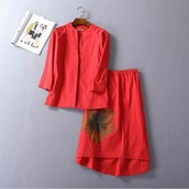 dress,twinset dress