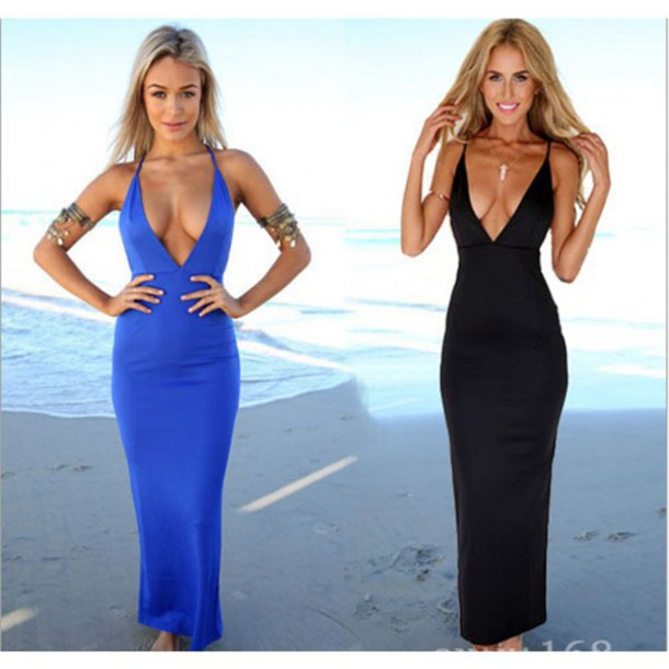 dress black dress blue dress znu party dress