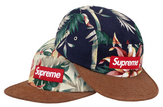 hat supreme 5panel floral cool swag hats