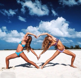 swimwear bahamagirls fashion style trendy girly girly wishlist bikini bikini top bikini bottoms sexy bikini blue bikini blue swimwear blue coat purple bahama instagram bahamas
