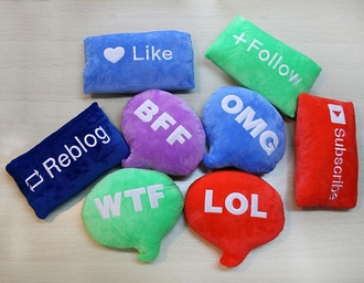 home accessory pillow youtube wtf words printed omg girlz modern fashon decoration home furniture