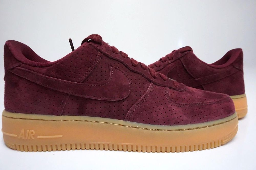 nike air force damen bordeaux
