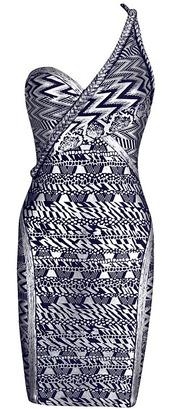 dress,dream it wear it,clothes,bandage,bandage dress,silver,silver dress,navy,navy dress,one shoulder,one shoulder dress,one shoulder dresses,metallic,metallic dress,foil,foil print,silver foil,party,party dress,cocktail,cocktail dress,sexy,sexy dress,mini,mini dress,free shipping,pattern,patterned dress,patterned dresses,print,print dress,printed dress,glamour,glamorous dress,glamorous dresses,summer outfits,girly,romantic summer dress,pool party