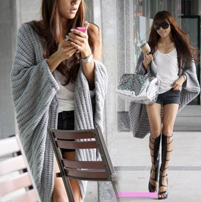 Batwing Casual Loose Sweater