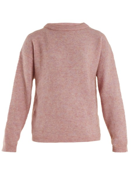 Acne Studios sweater knit light pink light pink
