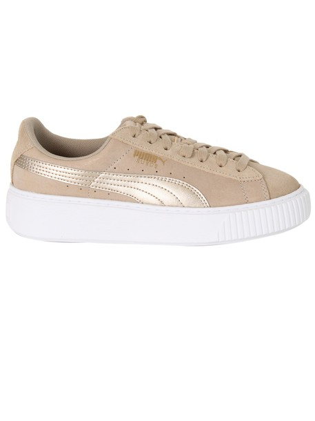 puma sneakers platform sneakers suede shoes