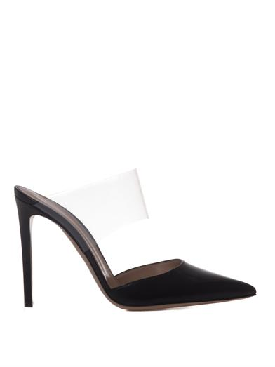 Leather and PVC pumps | Gianvito Rossi | MATCHESFASHION.COM