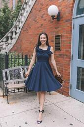 thecollegeprepster,blogger,dress,shoes,bag,jewels,bow dress,clutch,sandals,cocktail dress
