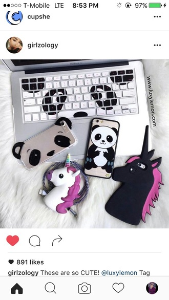 phone cover iphone black unicorn