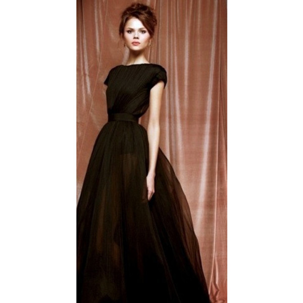 dress perfect black gown