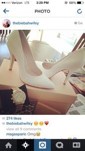 shoes,pumps,white,cute,ariana grande