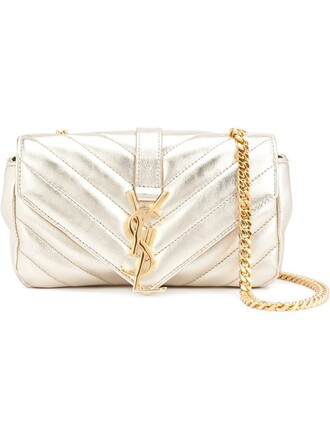 satchel mini metallic bag