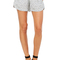 Women's silk track short | bottoms | bella luxx