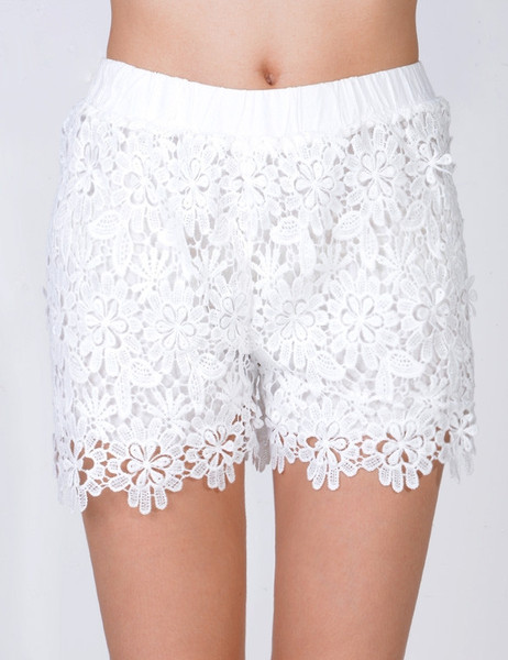 Connie Vintage Lace Shorts | Outfit Made