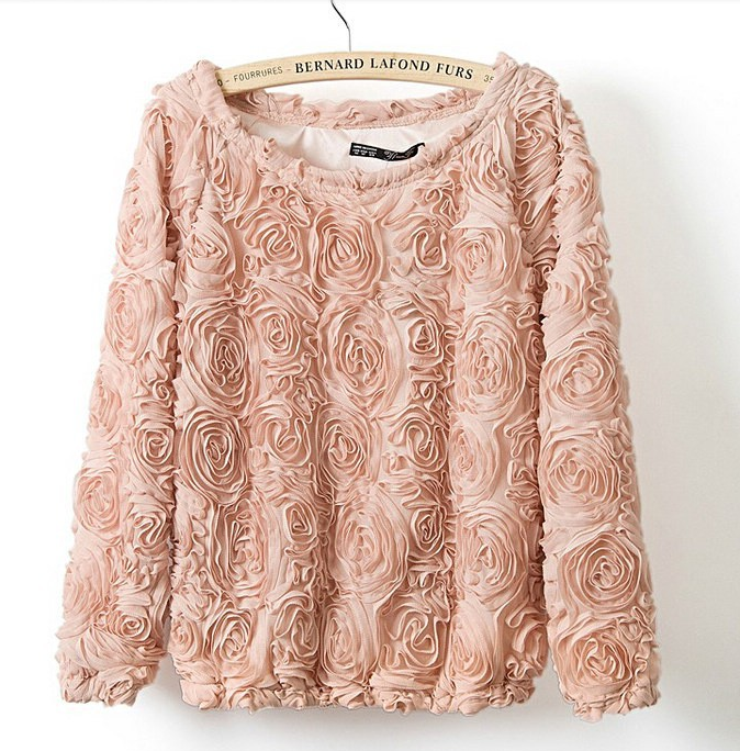 The real rose sweater