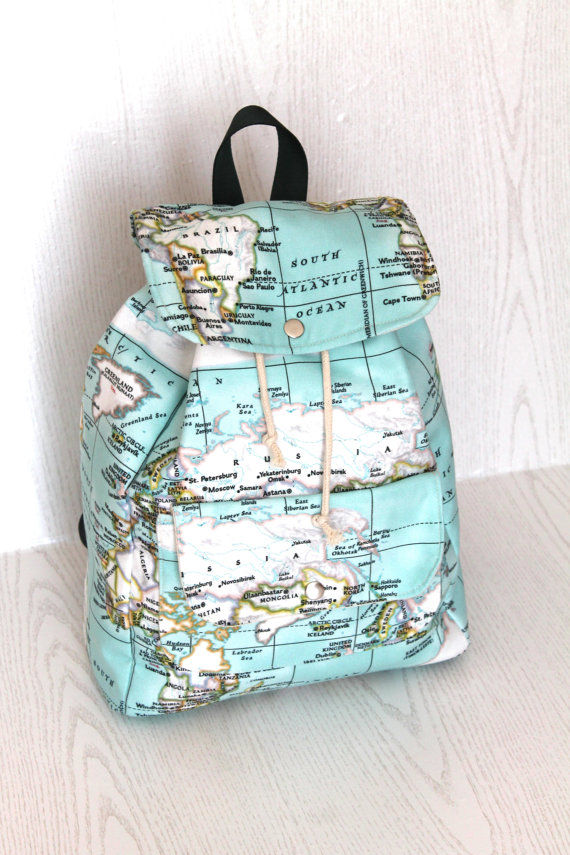 Design world map printed backpacktraveller unisexdaily useback new design world map printed backpacktraveller unisexdaily useback to school map backpack gumiabroncs Gallery