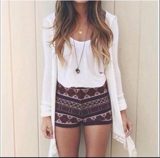shorts printed cute shorts bergandy summer outfits short shorts patterned shorts