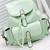 Foldover Buckled Backpack - Mint - Lookbook Store