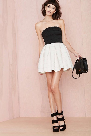 bustier dress white black dress ball gown dresses