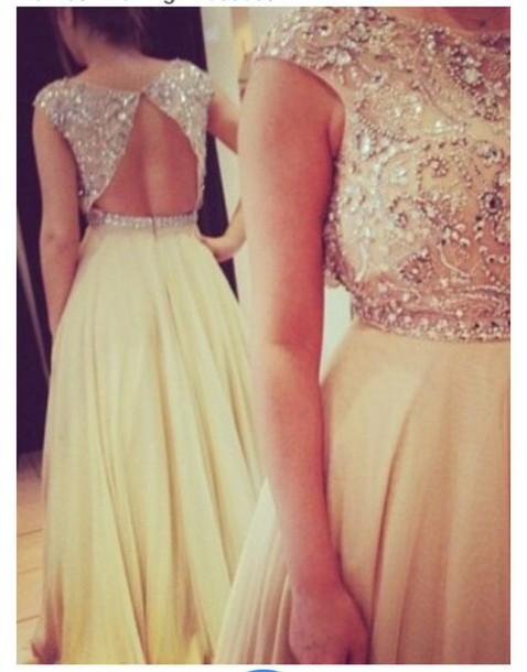 dress beaded prom dress
