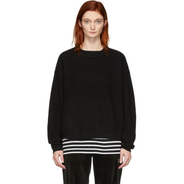 alexanderwang.t Black Wool Pullover