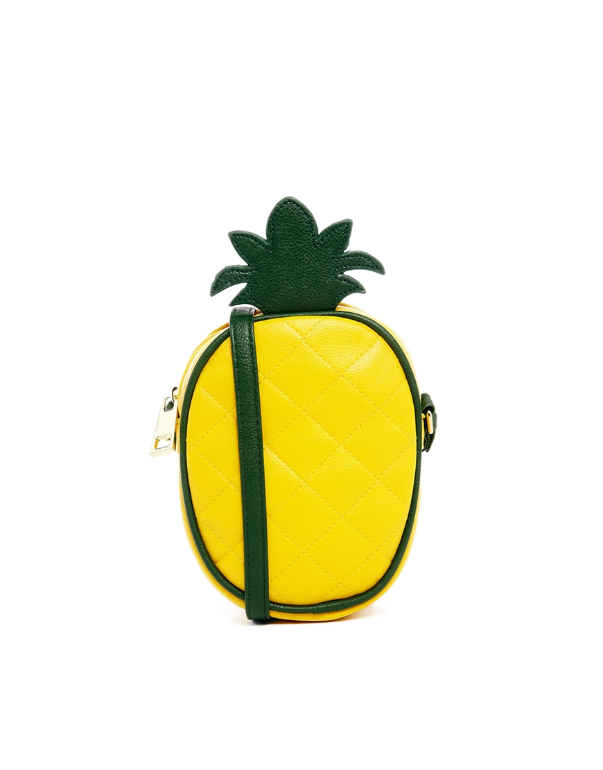 ASOS Pineapple Cross Body Bag at asos.com