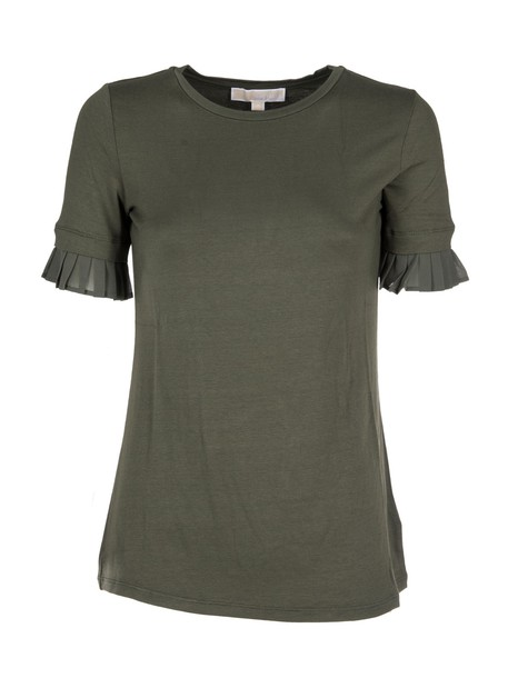 MICHAEL Michael Kors t-shirt shirt t-shirt pleated top