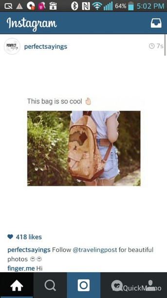 bag world map map print map print travel traveling trips holidays backpack cool brown