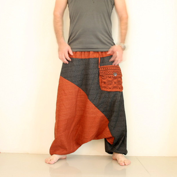 Harem Pants M Yoga Linen SIZE Women pants aqrax8