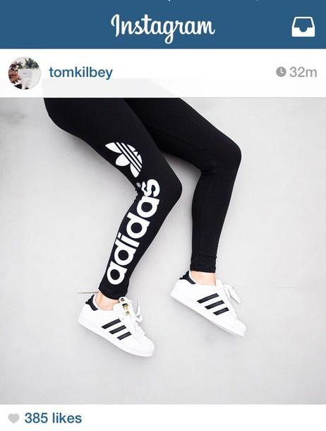 pants adidas black