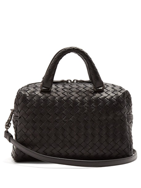 Bottega Veneta cross bag leather black