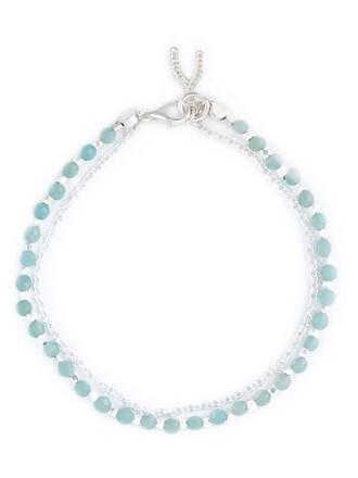wishbone green jewels