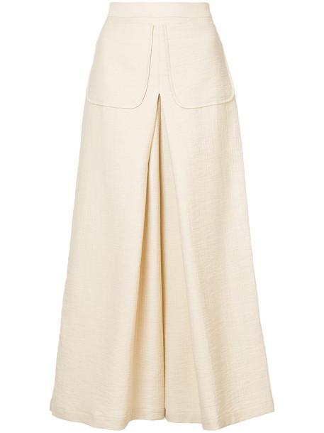 Rachel Comey culottes women nude cotton pants