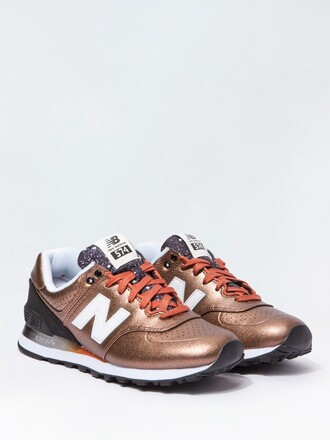 shoes new balance new balance sneakers new balance 574 new balance women sneakers bronze