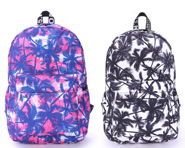 bag daisy daisy denim backpack palm tree palm tree print roshe  run floral palm tree printed scool bag floral backpack backpack white pink purple nike palm trees scool casual casual bag activewear sportswear fitness fitness backpack